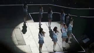 [FANCAM] 160602 I.O.I (아이오아이) - When The Cherry Blossoms Fade @ KCON PARIS