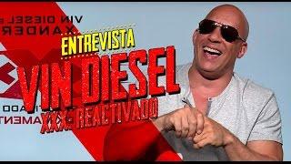 Vin Diesel habló español y nos platicó sobre xXx: Reactivado