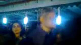 Zafar Iqbal-dancing with girls at night-party