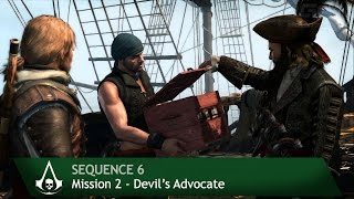 Assassin's Creed 4: Black Flag [100% Sync] Devil's Advocate [Sequence 6 - Mission 2]