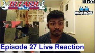 Ichigo vs Ikkaku Finale!! - Bleach Anime Episode 27 Live Reaction