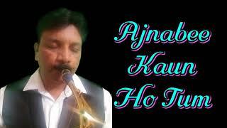 #223:-Ajnabi Kaun Ho Tum || Swikar Kiya Maine|| Lata || Best Saxophone Instrumental