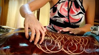 CHOCOLATE ASMR MASSAGE & Brushing | Sleep Relaxation | Hawaii