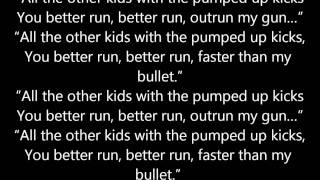 foster the people - pumped up kicks lyrics