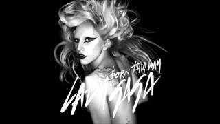 Lady Gaga - Born This Way  Karaoke / Instrumental with backing vocals and lyrics
