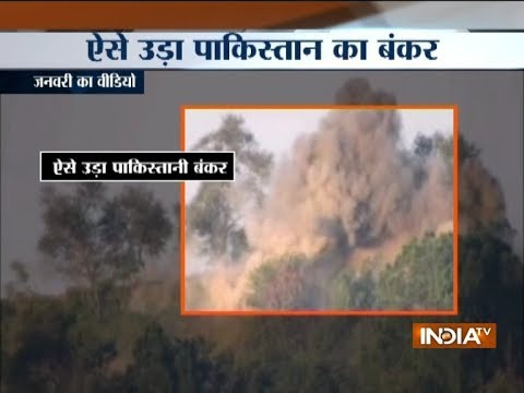 Xxx Mp4 In Response To Pak Ceasefire Violation Indian Army Destroys Pak Posts Near LoC 3gp Sex