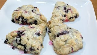 How to make scones | Lemon and Blueberry Scones Recipe