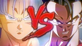 Gohan Vs Mirai Trunks | Batalha De Rima | Ft Ninja Raps [Produção Vendetta Beats]
