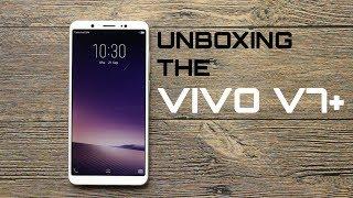 Unboxing the vivo V7+