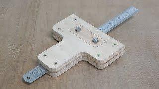 Make a marking gauge
