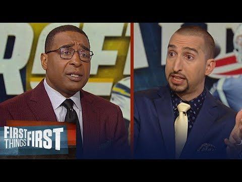 Nick Wright makes a bold prediction about Chargers vs Patriots NFL FIRST THINGS FIRST