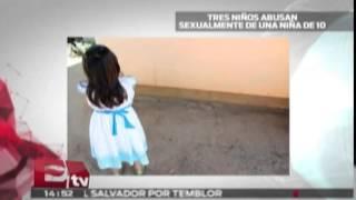 Lo más visto: Tres niños abusan sexualmente de una menor / Titulares