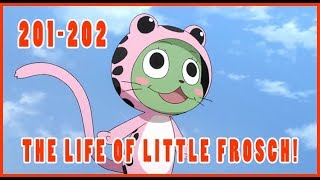 Fairy Tail Episode 201-202 Live Reaction/Review!(REDIRECT) YOU CAN DO IT FROSCH!