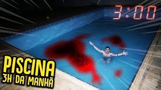 NUNCA ENTRE NA PISCINA AS 3H DA MANHÃ !! [ REZENDE EVIL ]
