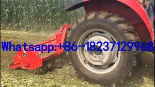 silage forage grass napier straw cutter chopper and returning machine