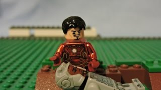 Captain America : CIVIL WAR trailer in LEGO ! Chrome IRON MAN !