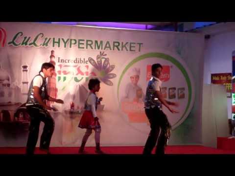 RAK DANCE ACADEMY IN LULU HYPERMARKET, MALAYALAM SONG