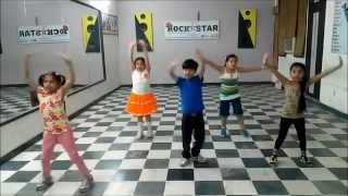 Abhi to party shuru hui hai dance steps for kids rockstar academy chandigarh