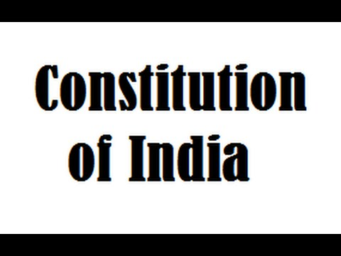 watch Constitution of India