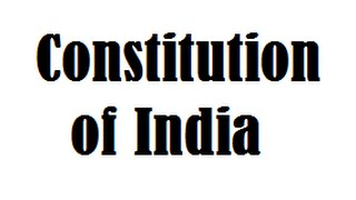 Constitution of India -  One Liner Gk - Must Know Facts for ALL EXAMS