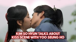 Kim So Hyun Talks About Filming Kiss Scene With Yoo Seung Ho