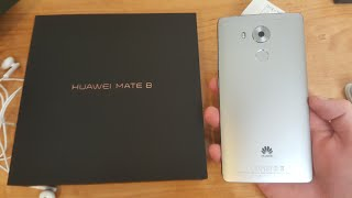 Huawei Mate 8 Unboxing and Impressions