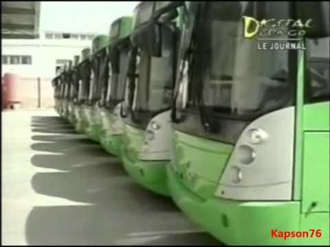 300 nouveaux bus pour kinshasa