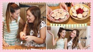 Baking Macarons with Tanya   Zoella