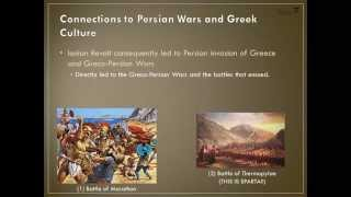 Greco-Persian Wars: The Ionian Revolt (in a nutshell)