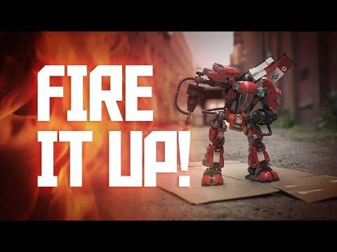 LEGO NINJAGO Movie: BREAKDANCE Battle - Kai vs. Fire Mech