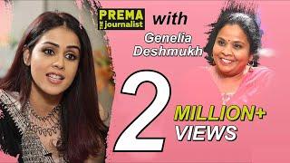 Genelia Deshmukh Super Special Interview with Prema The Journalist || Full Interview - #14