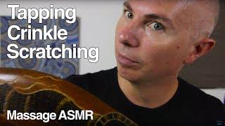 ASMR Day Melody Tapping, Brushing & Crinkle