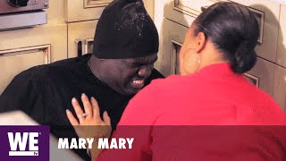 Mary Mary | 'Warryn Campbell Messes with the Wrong Crowd' Sneak Peek | WE tv