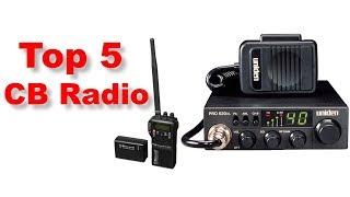 Top 5 CB Radio Review || Best CB Radio Review ||