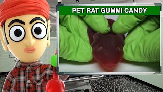 Jelly Belly Pet Rat Gummi Candy - Runforthecube Candy Review