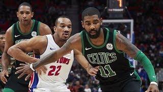 Kyrie Irving Done Wearing Mask! Celtics Hold Pistons 33%! 2017-18 Season