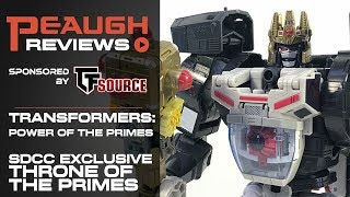 Video Review: Power of the Primes SDCC Exclusive THRONE OF THE PRIMES