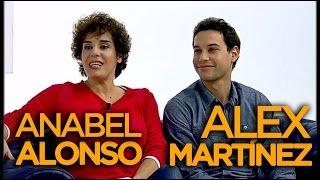 Anabel Alonso y Alex Martínez de 'Amar es para siempre' - VÍDEOENCUENTROS