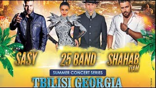 Mystery4 Summer Concert Series in Tbilisi Georgia (29 Tir 1396)