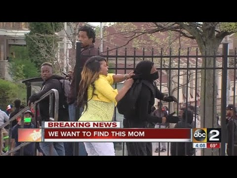 Xxx Mp4 Story Behind The Video Mom Beats Son For Throwing Rocks At Police In Baltimore 3gp Sex