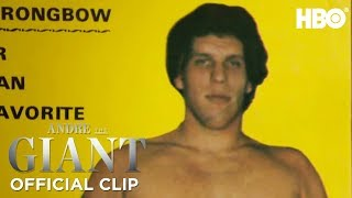 'How Andre Got His Name' Official Clip | Andre The Giant | HBO