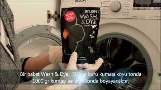 Dylon Giysi ve Kumaş Boyası (Çamaşır Makinesinde Boyama)  Dylon Wash & Dye
