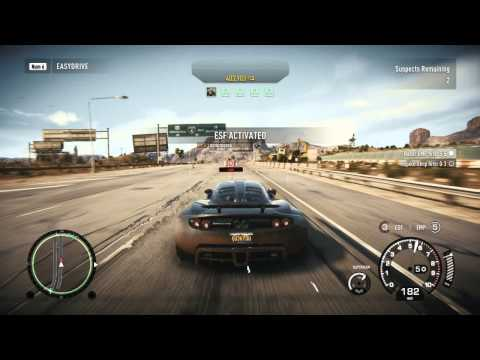 Need For Speed Rivals Multiplayer Busting real players noobs with Hennessey Venom GT Undercover