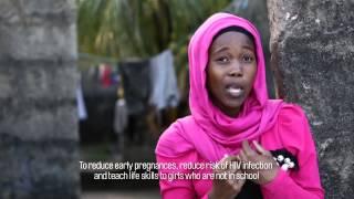 Adolescent girls in Tanzania - Mabinti Tushike Hatamu