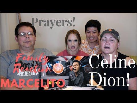 Reaction to Marcelito Pomoy (Celine Dion) Prayers