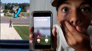 PRANK CALLING A INSANE SERIAL KILLER GOES WRONG! *COMES TO MY HOUSE*