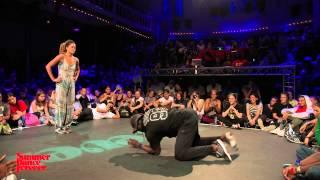 Marie Kaae  vs Yugson FINAL House Dance Forever - Summer Dance Forever 2015