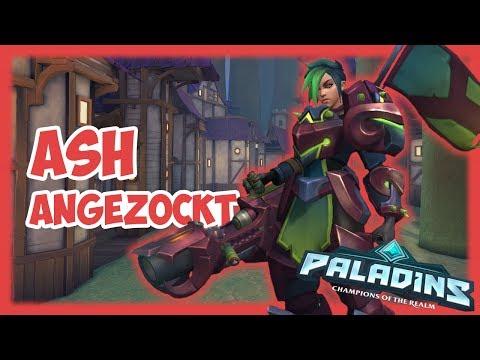 ASH angezockt - PALADINS - Gameplay [Deutsch German Lets Play]
