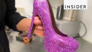 These Glitter Heels are Edible