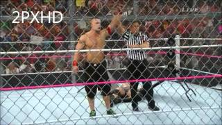 WWE Hell In a Cell 2014 Highlights HD